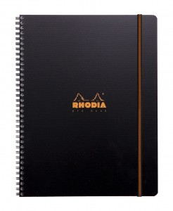 Notes Rhodia Active Pro Book A4+ Black - na spirali